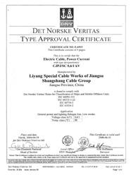 挪威DNV船级社认证