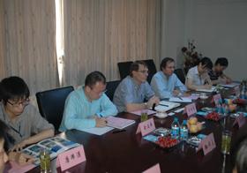 美国SHAW集团和国核工程有限公司领导来访