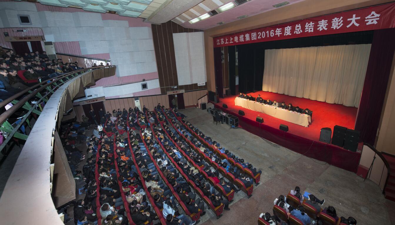 上上电缆隆重召开2016年度总结表彰大会