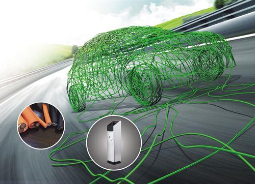 电动汽车充电用交流电缆
