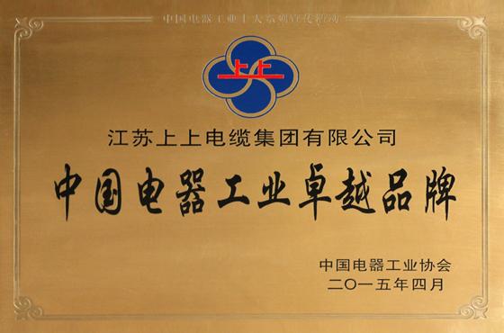 中国电器工业卓越品牌