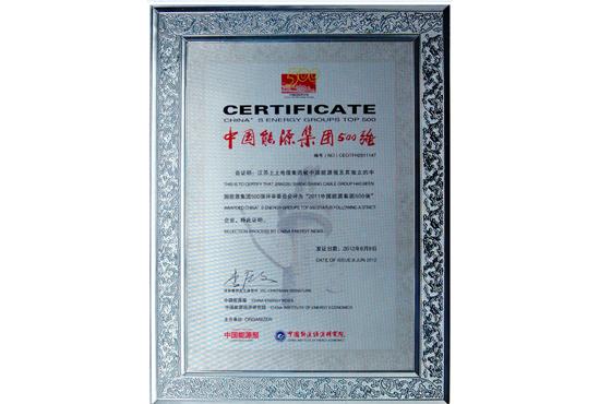 中国能源集团500强