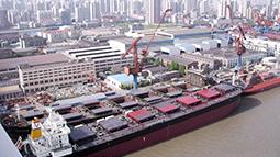 上上电缆服务于江南造船厂