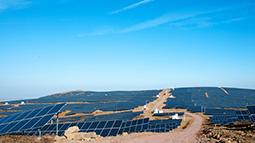 太阳山垄坑子30MWP光伏电站
