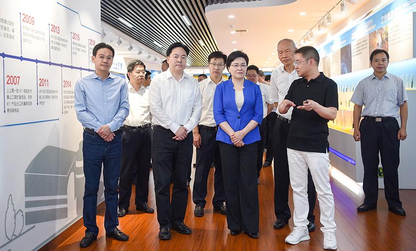 江苏省委常委、南京市委书记韩立明来上上电缆调研